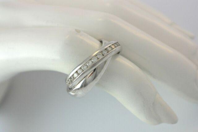 16188 Ring Silberring Damenring mit Zirkonia aus 925er Silber Damenschmuck