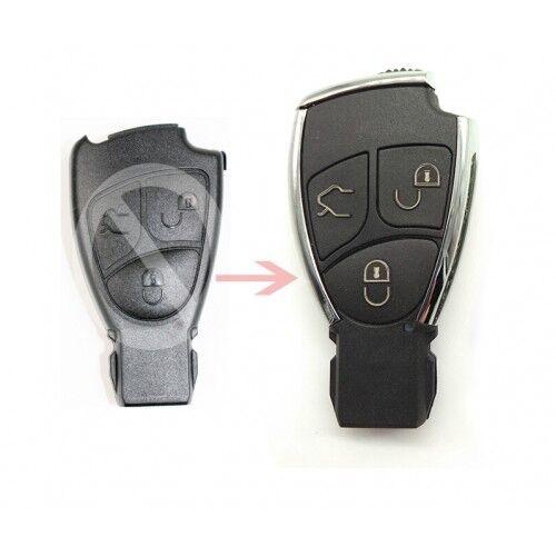 Modified Remote 3B Car Key Shell Fob for Mercedes-Benz C E S B Class CLK CLS SLK