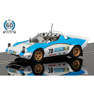 Scalextric 1 32 60th Aniversario Edición Limitada De Colección 1970s Lancia Stratos