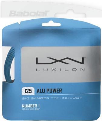 Appena Corde Tennis Luxilon Bb Alu Power Ice Blue 1,25 N.3 Matassine 12m Monofilamento