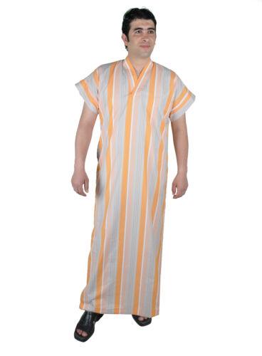 Messieurs caftan tunique peignoir robe d/'été chemise de nuit sauna-wellness-robe 672
