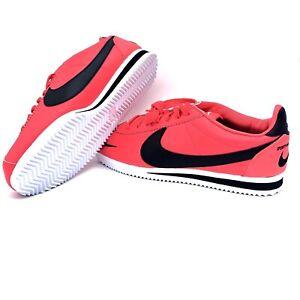 new arrival 07c24 921b9 Details about Nike Classic Cortez Prem Shoes Pink Red {807480-601} Mens Sz  7.5 Women's Sz 9