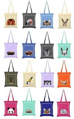 Inquisitive Creatures Tote Bag Flamingo Graphite Grey 38x42cm