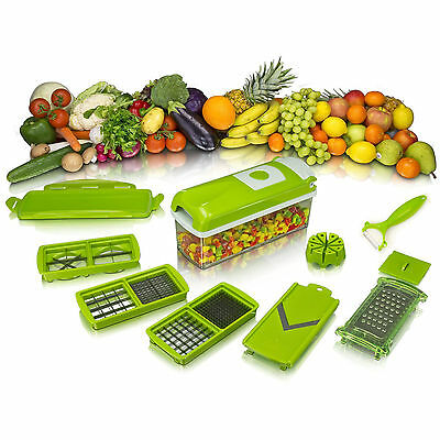 High Quality Nicer Dicer Plus Vegetable Cutter Fruit Slicer Peeler With Manual