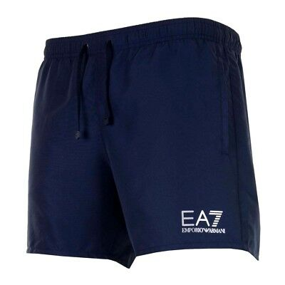 Navy Blue The Latest Fashion Swimwear Clothing, Shoes & Accessories Intellective Ea7 Emporio Armani Mens Sea World Swim Shorts