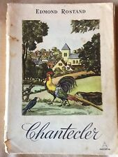 ROSTAND Edmond theatre GRADASSI Jean, illustration Chantecler.1955 numeroté