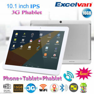 "10,1"" Pollici 16GB Tablet PC Android 6.0 Quad Core 3G GPS Smartphone Dual SIM EU"