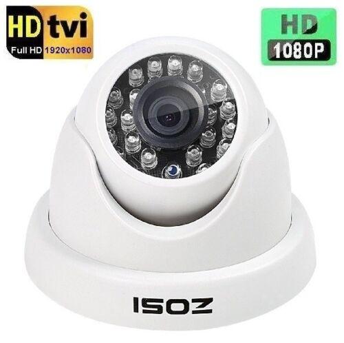 Zosi 2.0MP 1080p HD-TVI 24 IR LEDs Night Vision In//Outdoor CCTV Camera T4