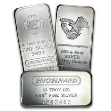 10 oz Engelhard Silver Bar - Random Selection - SKU #40252
