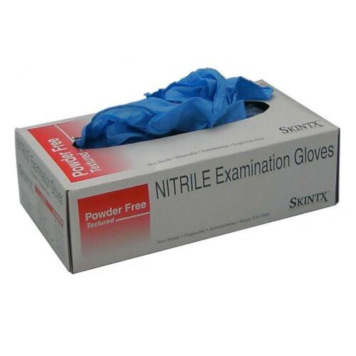 Medium Nitrile Gloves 5MIL Blue 100