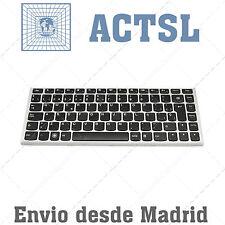 Teclado Español para Lenovo Essential M30-70 Series Marco Gris Plata