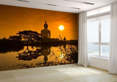 Big Buddha Sunset Statue Wallpaper Mural Photo 14066752 budget paper