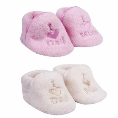 2er Pack Baby Mädchen//Jungen Schühchen Schuhe Plüsch 0-6 Monate 6-12 Monate