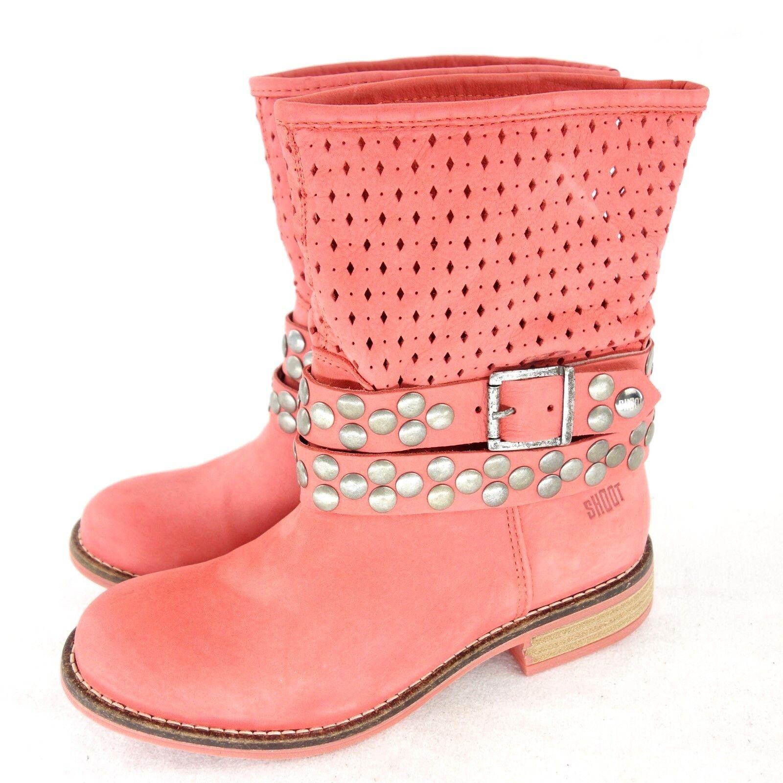 SHOOT Damen Stiefel Stiefeletten Schuhe Stiefel Leder 37 Gr 36 37 Leder 38 39 41 NP 129 NEU d4da77