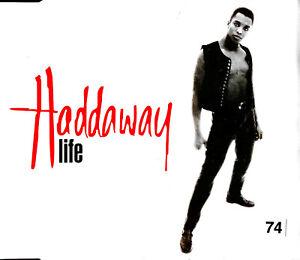 Haddaway-Maxi-CD-Life-Europe-VG-VG