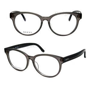 7b82d4a9aa2 GUCCI GG-9088J MK4 Matte Gray Transparent 52 16 145 Eyeglasses Rx ...