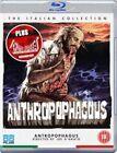 Anthropophagous Blu-ray 5037899048405 Tisa Farrow Joe D'amato Saverio
