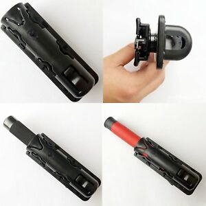 360-Rotating-Tactical-Expandable-Baton-Holder-Case-Pouch-Telescopic-Holster-New