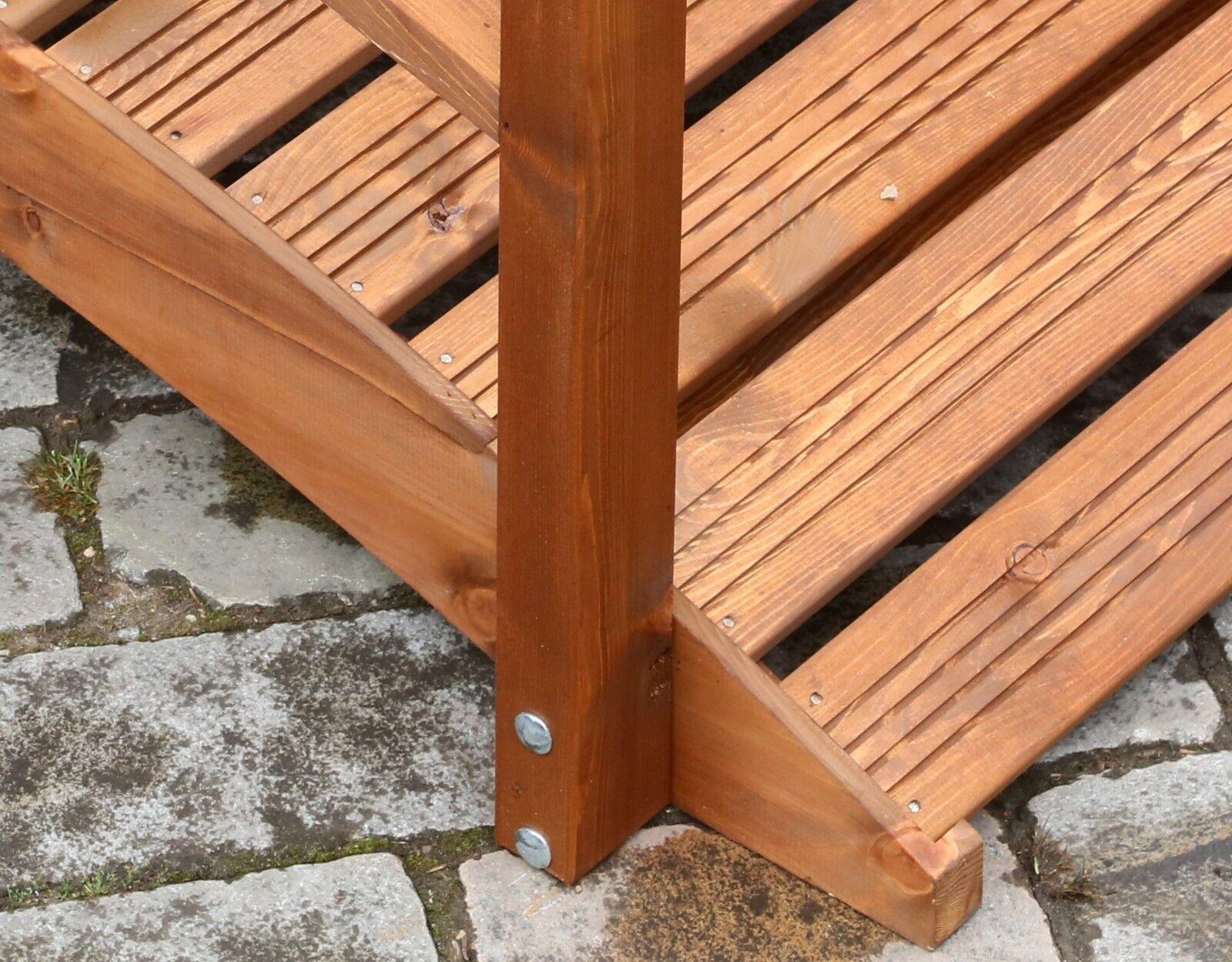 Oriental Wooden Garden Bridge Teak Finish 183cm (large) UK ...
