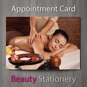 Carta Appuntamento Salone Di Bellezza SPA Massaggio terapeuta svedese a7