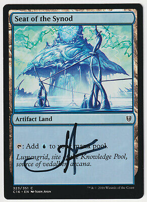 1 x Seat of the Synod MTG Magic The Gathering Mirrodin LP