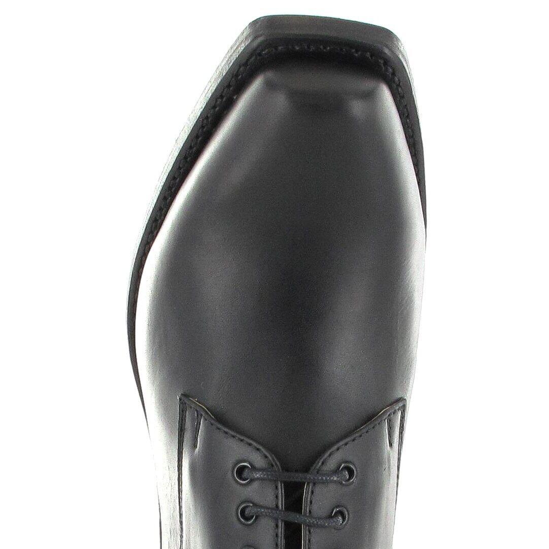 Sendra Stiefel 5717 Schwarz Bikerschnürschuh Schnürer Schnürer Schnürer    | Bekannt für seine gute Qualität  c2f2be