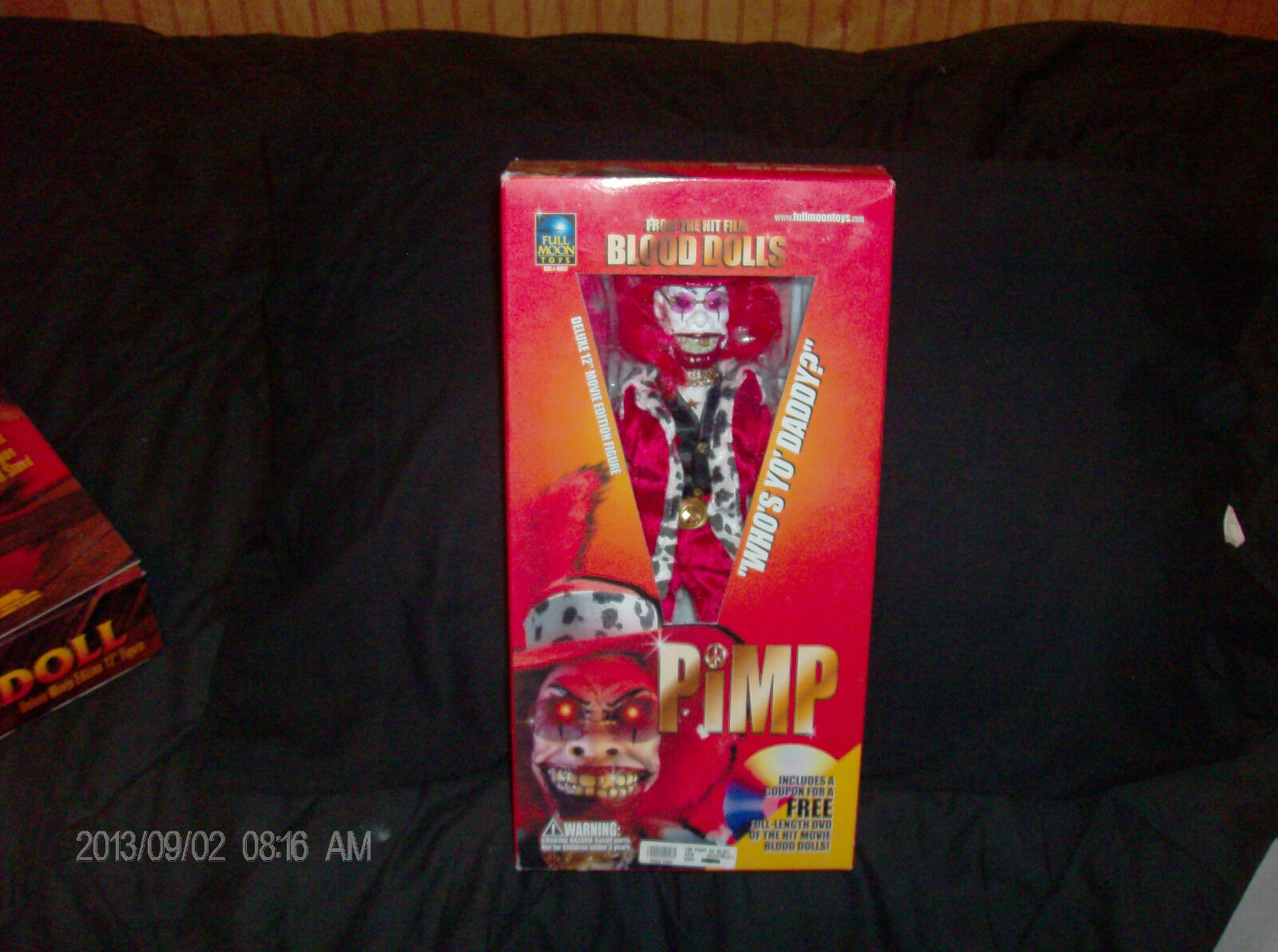 12  Blood Dolls Pimp figure from Full Moon Toys puppetmaster
