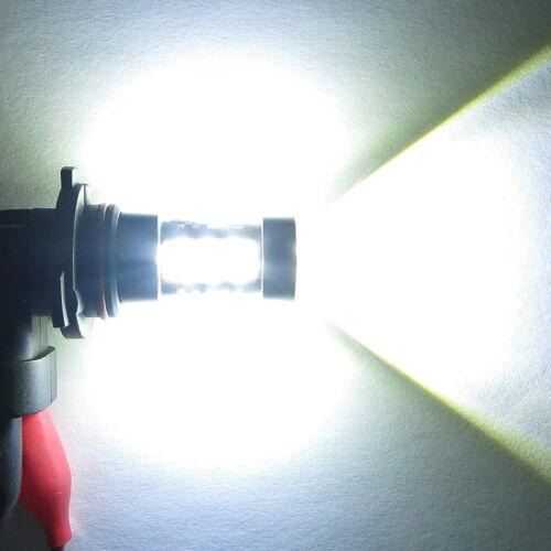 2PC REE 9006 HB4 80W High Power LED Fog Light Lamp Bulb 6500K Super White