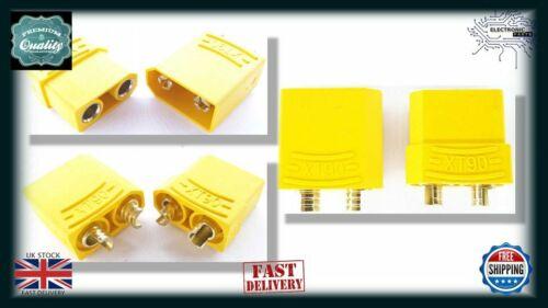 1pair XT90 RC Battery Connectors Plugs Sockets FEMALE MALE RC090