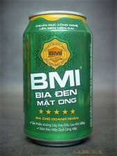 1x Dai Viet Lager 330ml Vietnam beer yellow cans empty open small hole bottom