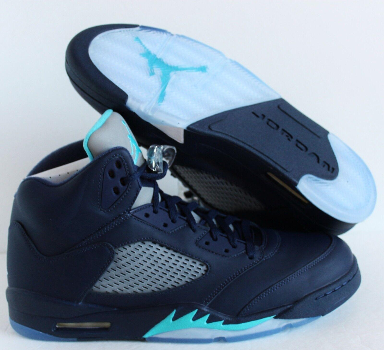 Nike Air Jordan 5 retro Midnight Navy Azul-Blanco de reduccion de Azul-Blanco precio comodo y atractivo 1fbfa6