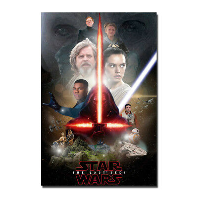 Solo  A Star Wars Story Movie Silk Fabric Poster Canvas Art Print 12x18 24x36