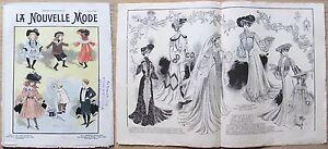 La-Nouvelle-MODE-N-5-1903-Rivista-di-moda-illustrata-con-paginone-centrale-gt