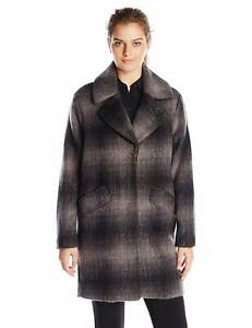 Andrew-Marc-Women-039-s-Emma-Brushed-Wool-Plaid-Coat-Plaid-10