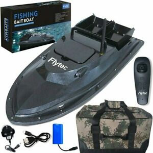 500M Wireless RC Fishing Bait Boat With 2 Motors Single Hand RC Waterproof Bag