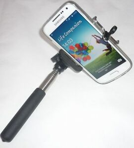 selfie stick stab teleskop stange ausziehbarer handy. Black Bedroom Furniture Sets. Home Design Ideas
