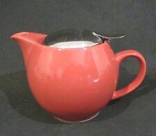 BEEHOUSE TEAPOT/TEA POT INFUSER BASKET, RED,2 - 3 CUPS, JAPAN