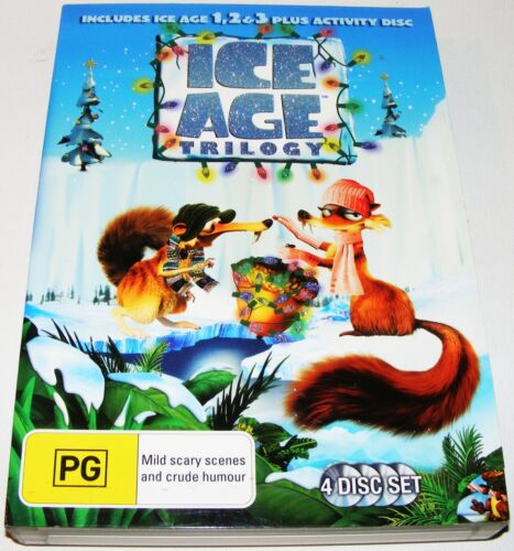 1 of 1 - Ice Age Trilogy- Ice Age 1 / Ice  2  Meltdown / Ice Age 3- Dawn Of The Dinosaurs
