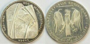 BRD-10-Mark-1990-J-Silber-034-Deutscher-Orden-034-J-451-vz-zu-fast-vz-st