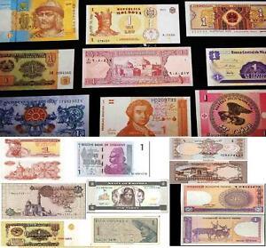 Lot 10pcs Bundle Diffe Countries