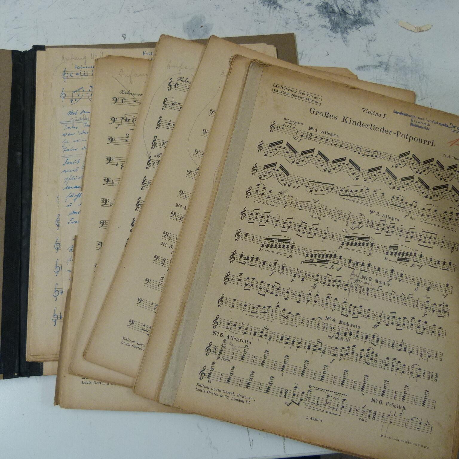Orquesta partes grosses Kinderlieder popurrí popurrí popurrí Buchwald  Felices compras