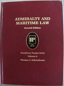 Admiralty and maritime law book