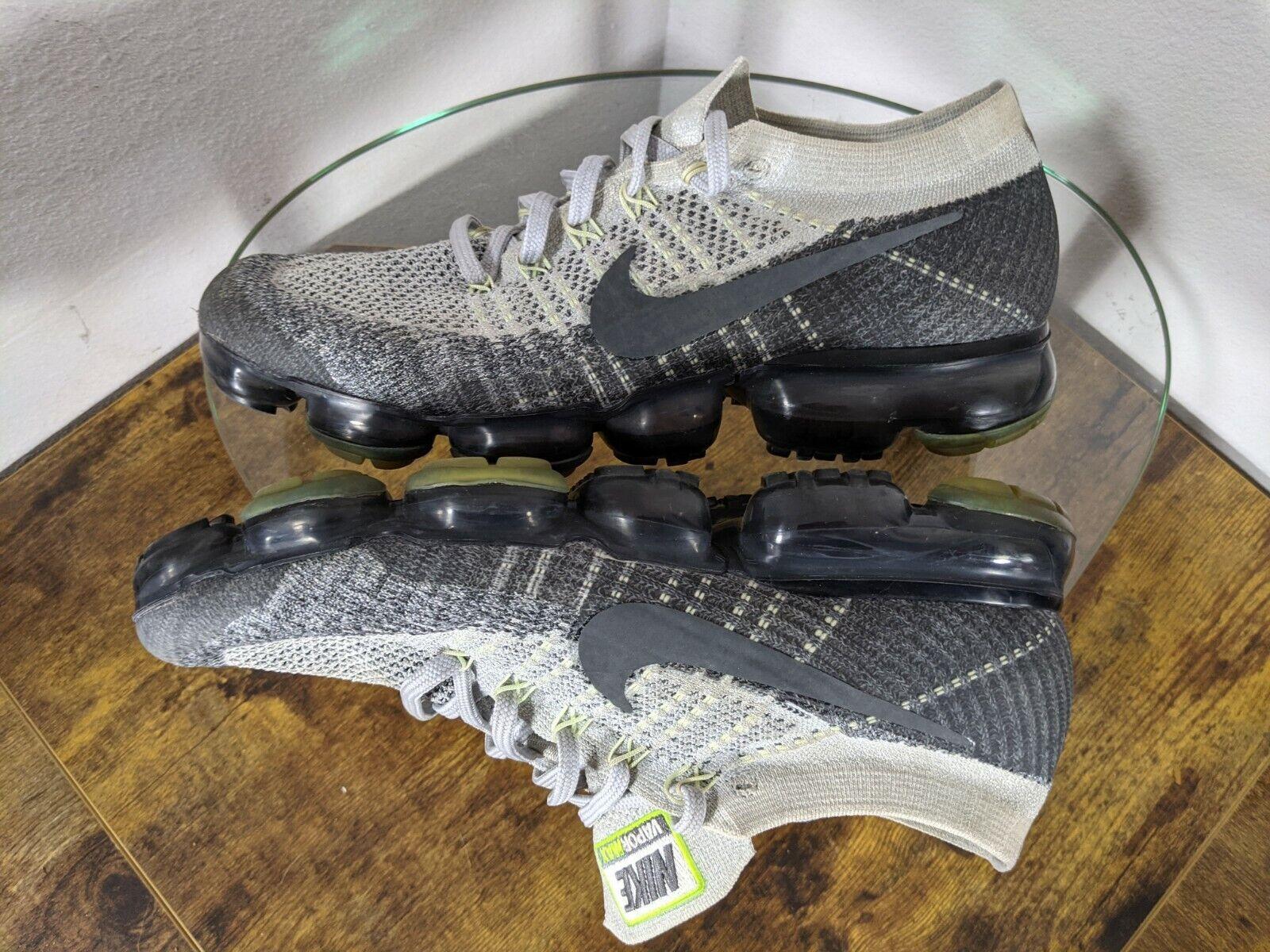 "Nike Air Vapormax Heritage ""Neon"" Mens 10 Gray / … - image 9"