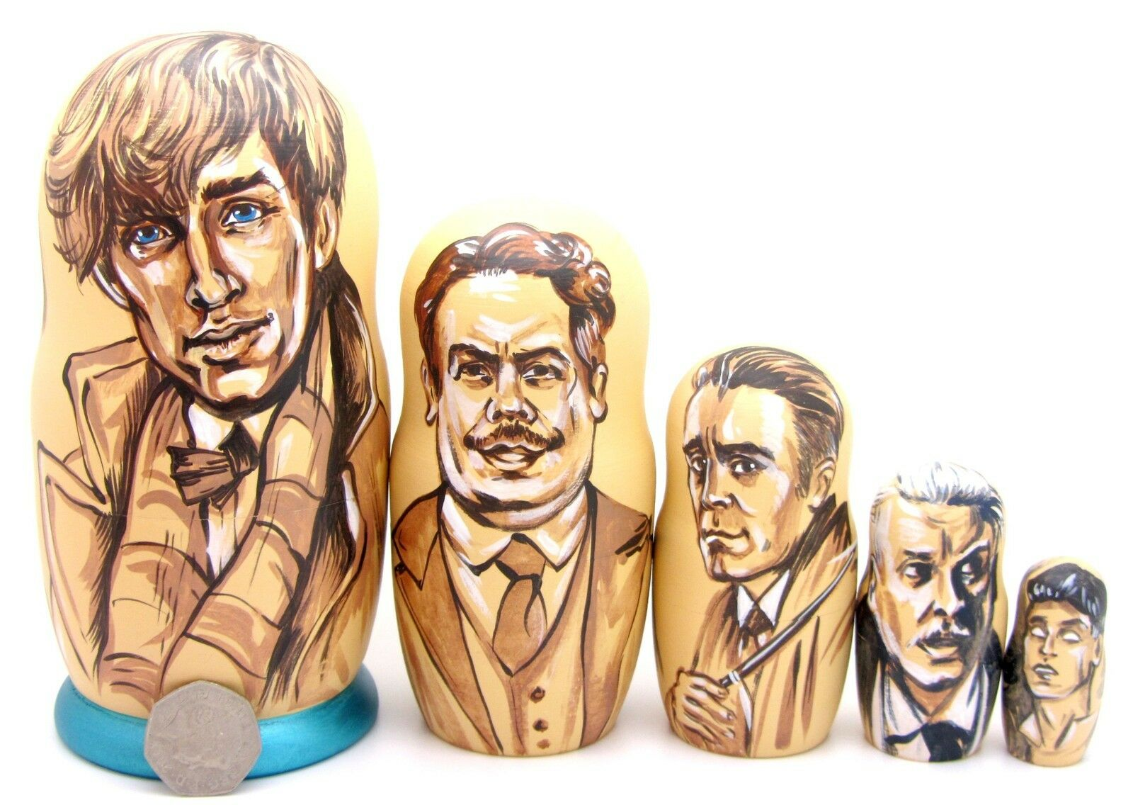 Fantastic Beasts Matryoshka dolls Newt Tina Queenie Kowalski Graves CROTence ART