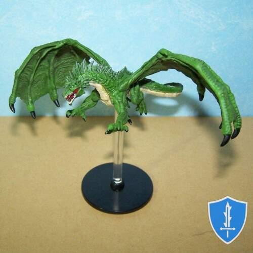Green Dragon - Tyranny of Dragons #31 D&D Miniature
