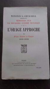 L'Orage Heckansatz W.Churchill Plön Paris Band 1 Brosche Tbe IN 8 / E.O. 1948