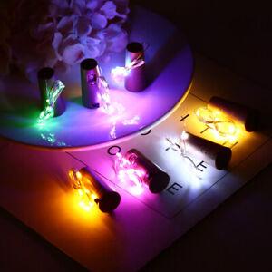 1m-10-LED-Mini-Bottle-Stopper-Lamp-String-Fairy-Light-Colorful-Light-Bar-Decor