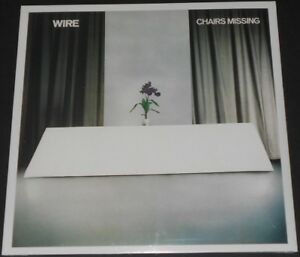 Details about WIRE chairs missing UK LP 2018 new sealed REISSUE graham  lewis DOME he said
