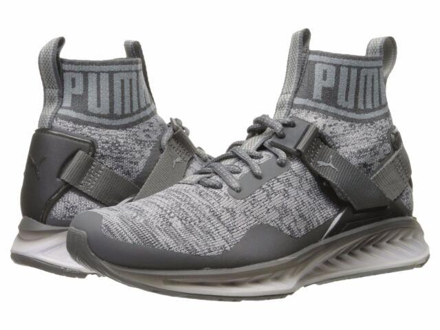 info for 577e8 2185f Men's Shoes PUMA Ignite evoKNIT Fade Training Sneakers 189895-04 Quiet  Shade New