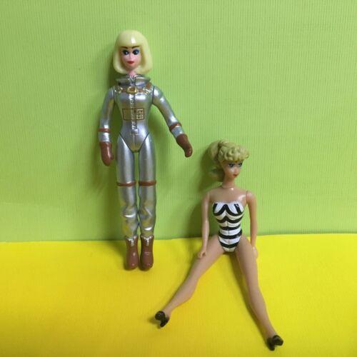 2pcs World/'s Smallest Barbie 1959 Retro Barbie Action Figure Toys